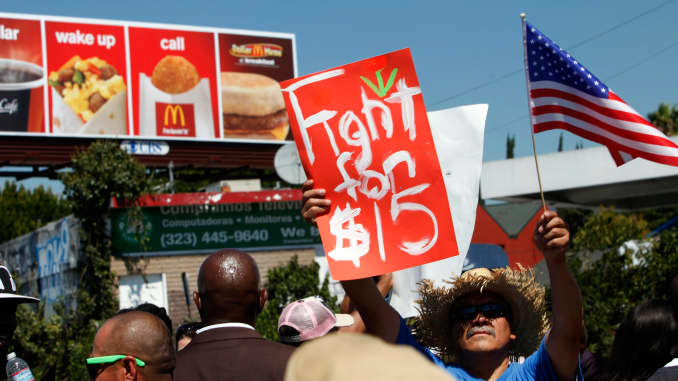 Higher minimum wage means restaurants are likely to raise
