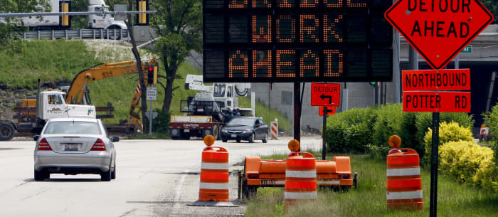 The 10 US states with the worst infrastructure