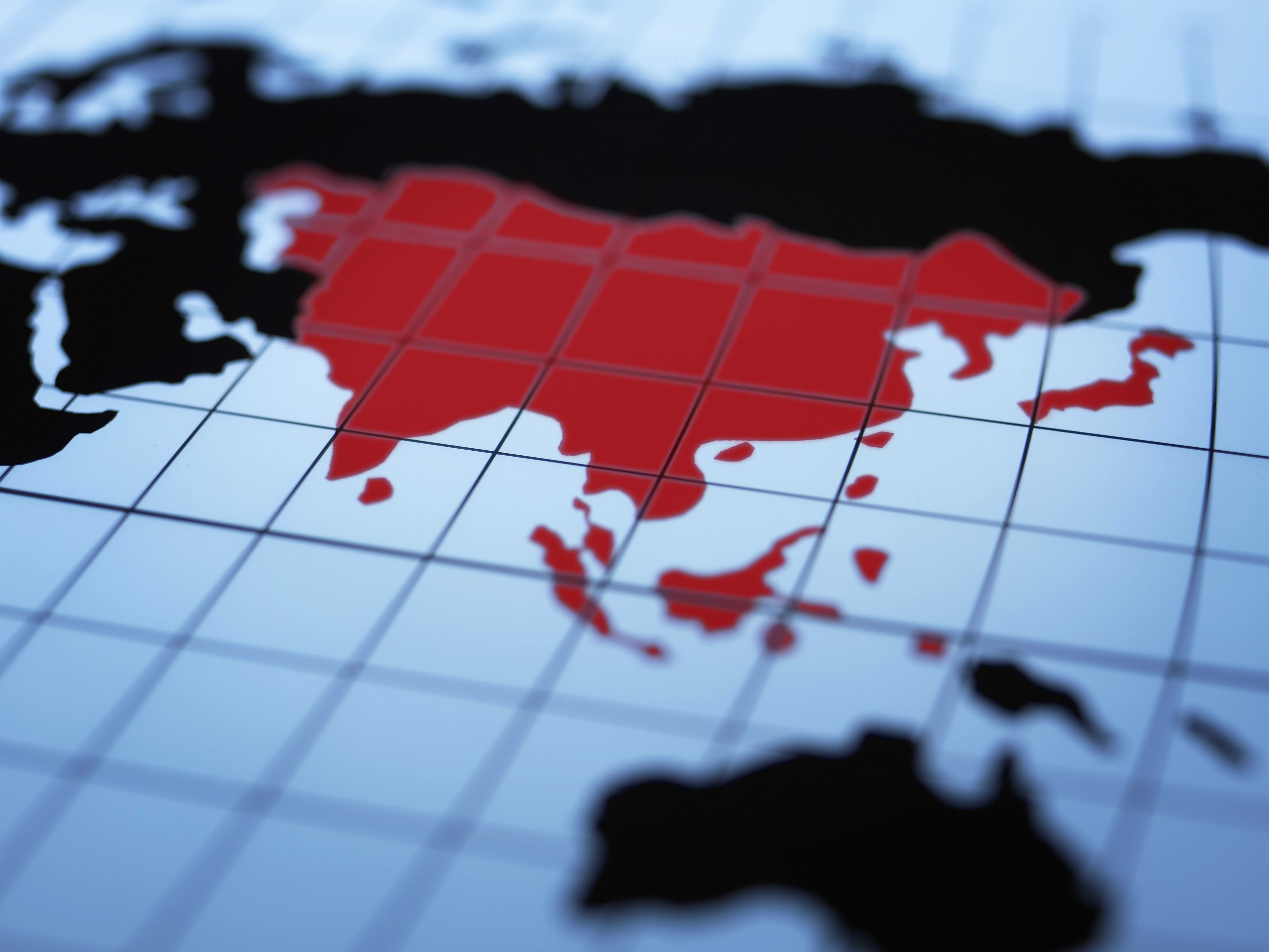 The Asian paradox: brisk business despite hostilities