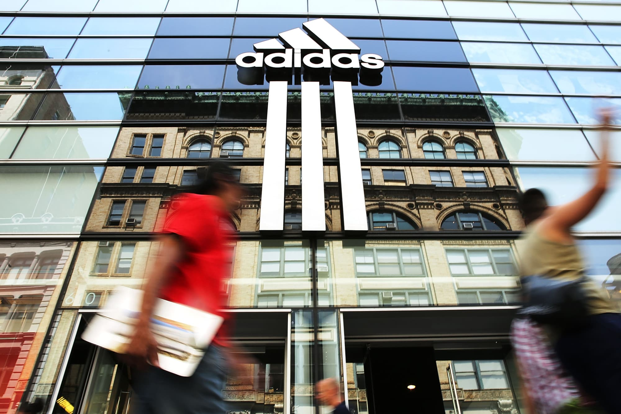 Adidas shares hit record high after profits beat expectations