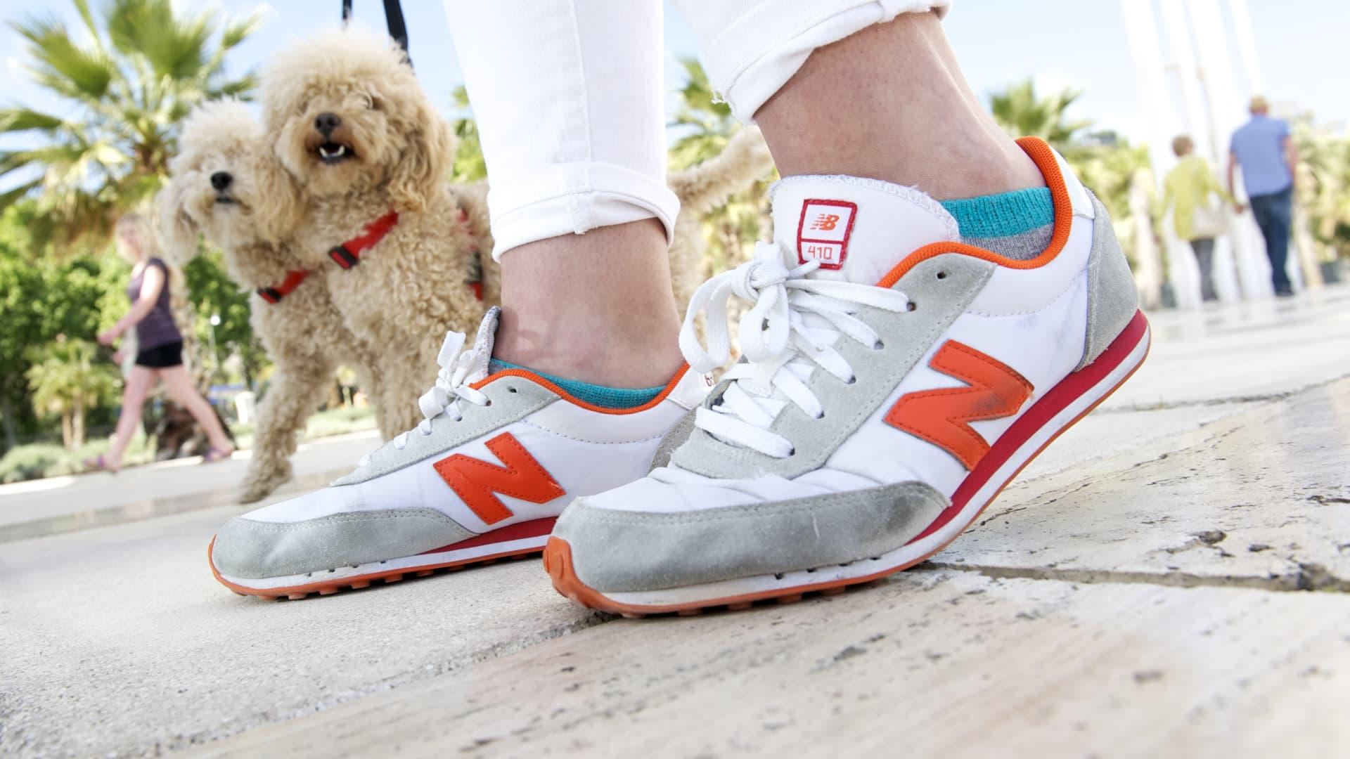 New Balance trainers.
