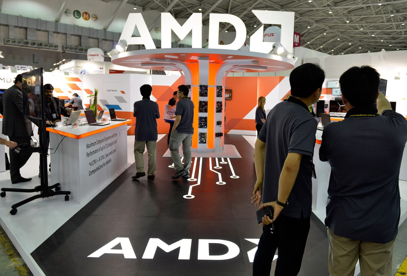AMD could see a 35% decline after massive run, trader warns