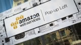 Amazon Web Services pop-up loft in San Francisco.