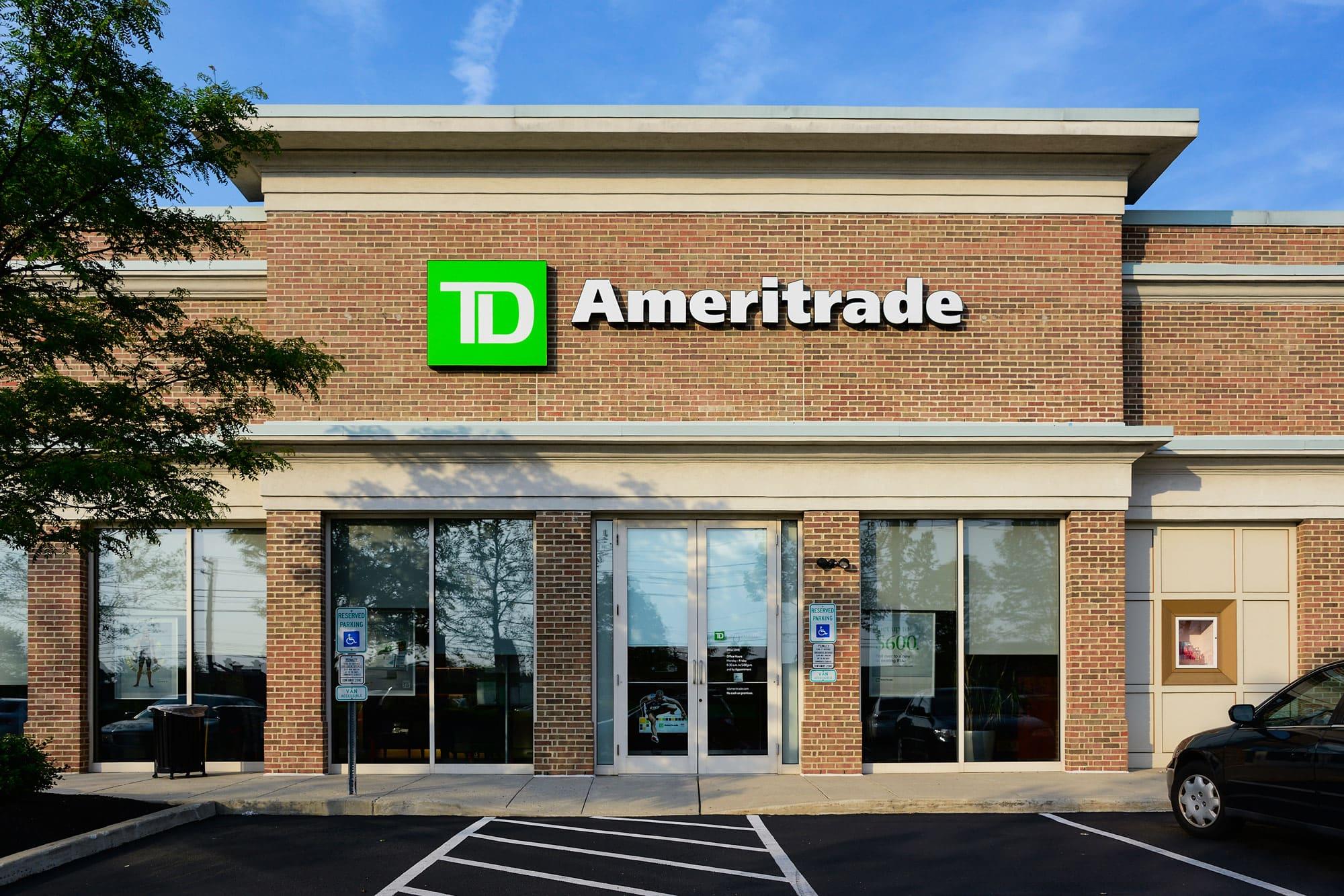 TD Ameritrade experiencing 'widespread' order-routing