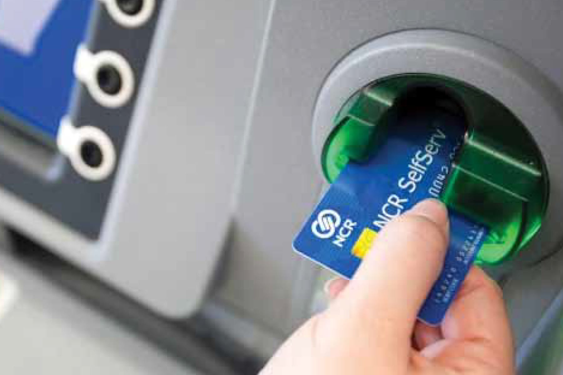 NCR, celebrating 50th anniversary of the ATM, takes on the grocery wars