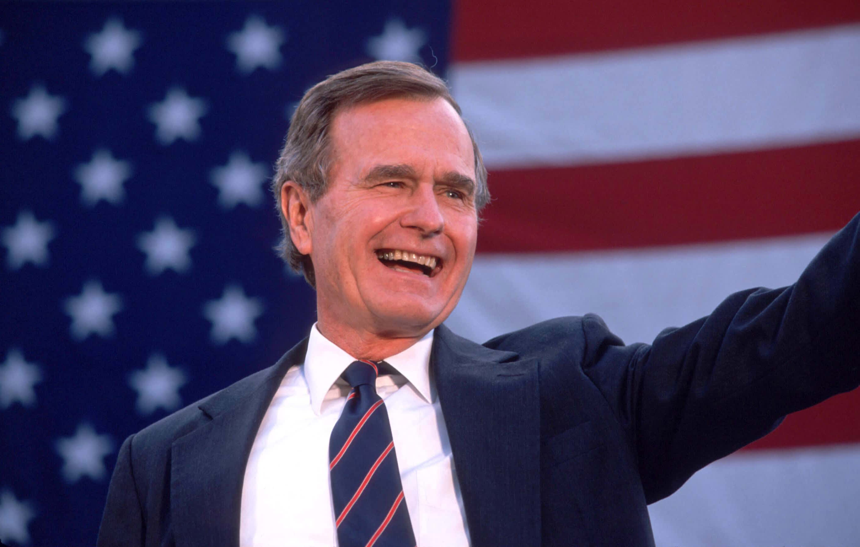Is This What Bush Meant By Surge In >> Former President George Hw Bush Dies At Age 94