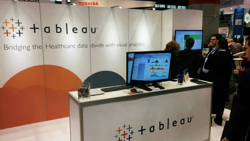 Salesforce to buy Tableau Software in an all-stock deal