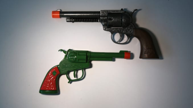 Image result for airport toy guns