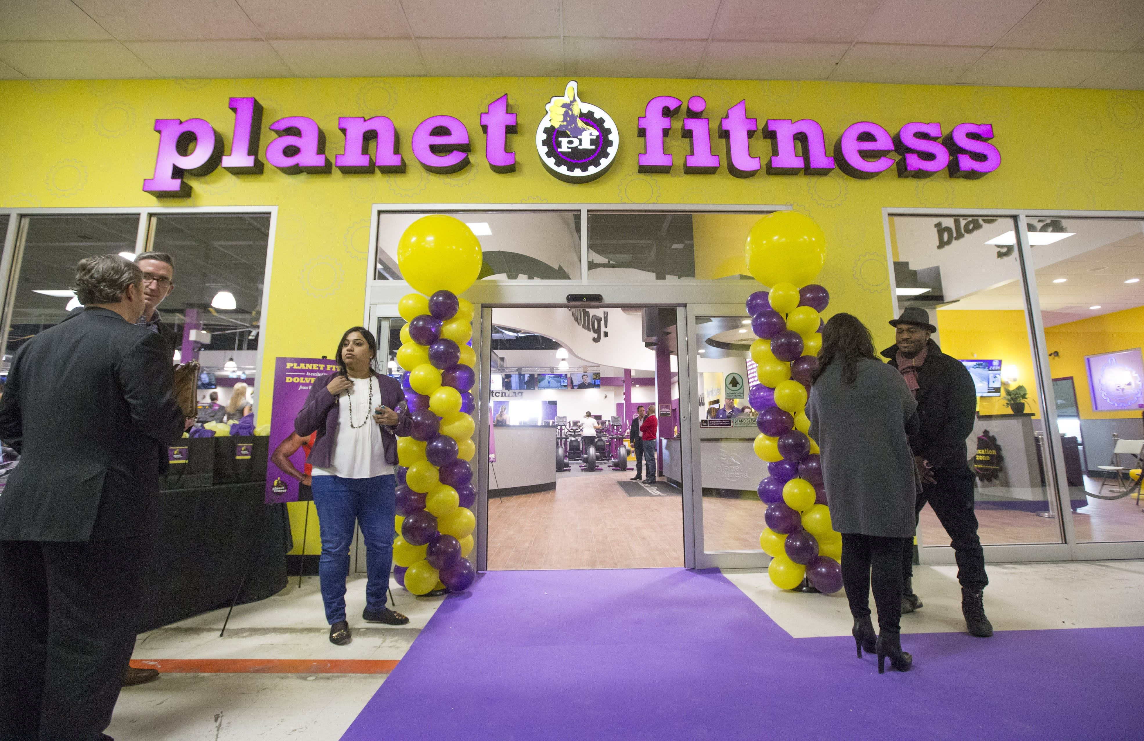 A Planet Fitness location in Toronto.