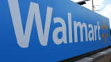 A Walmart sign in Miami