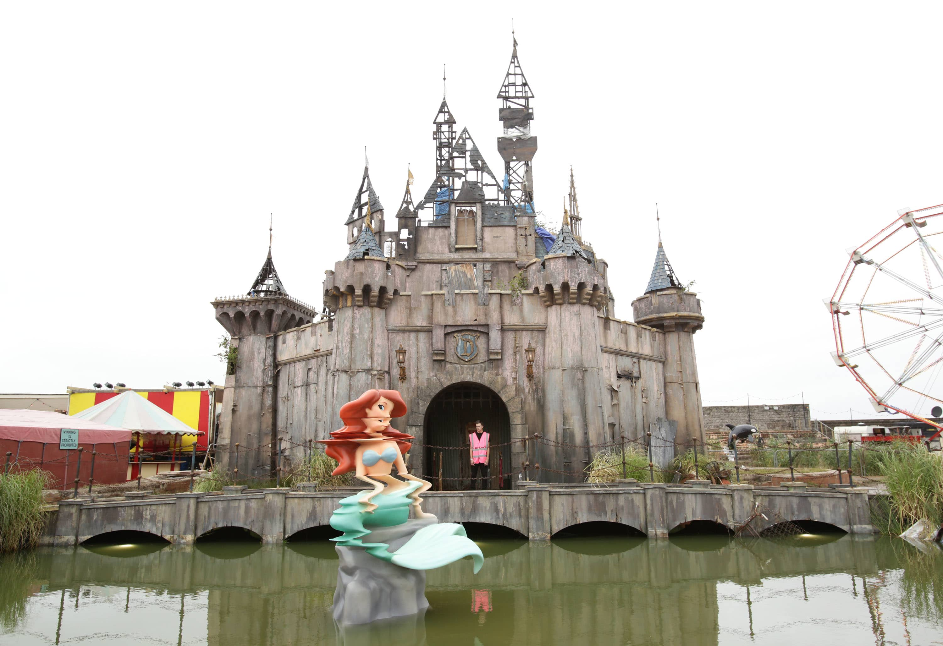 Banksy's Dismaland: Could Disneyland's evil twin save this ...