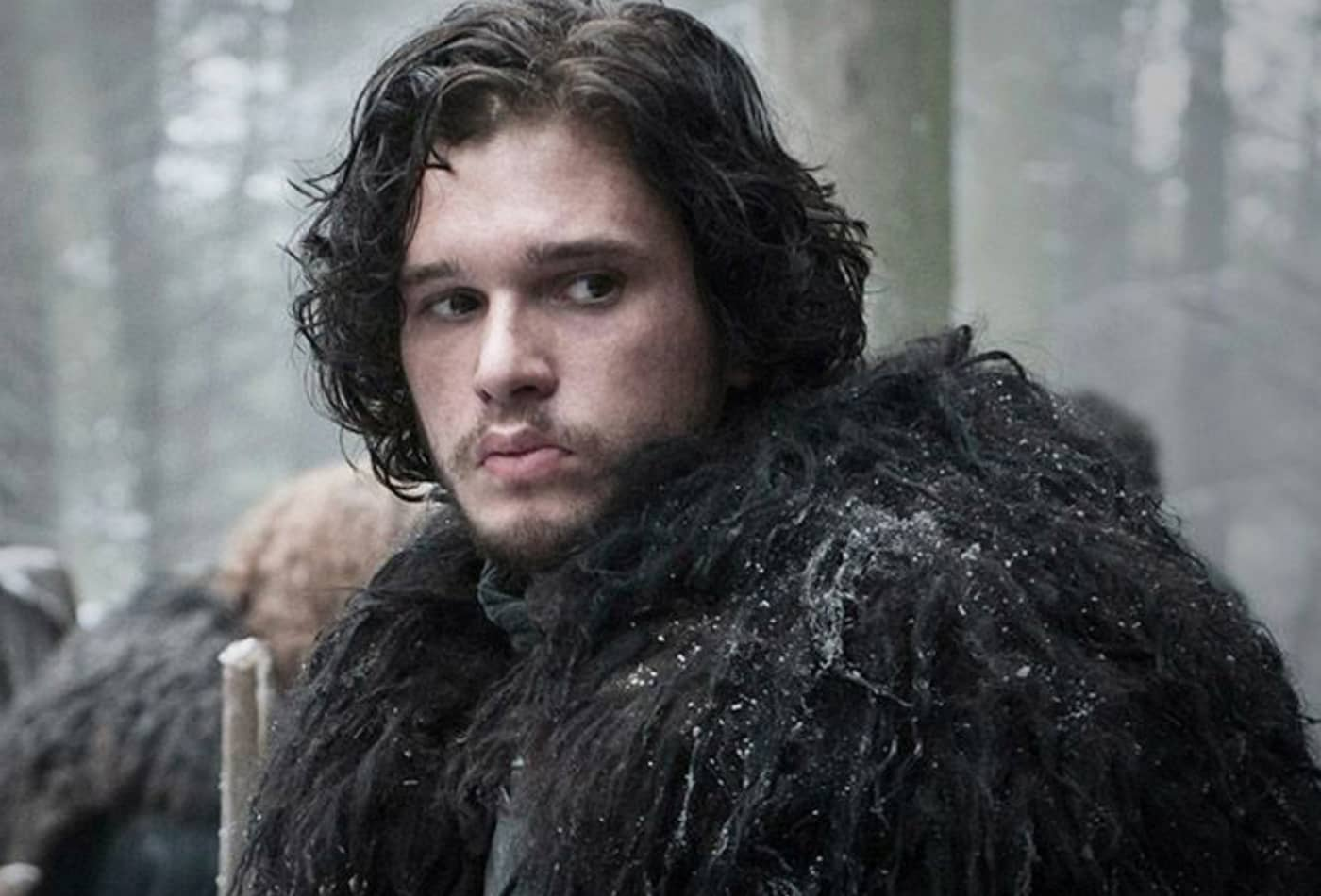 Jon Snow's Game of Thrones cloak is made from IKEA rugs
