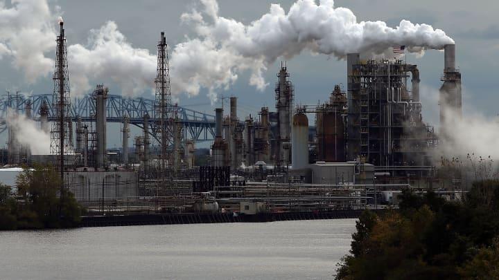 Oil slips after reaching six-week high
