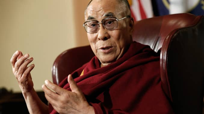 Dalai Lama I Have No Worries About Trump S Election