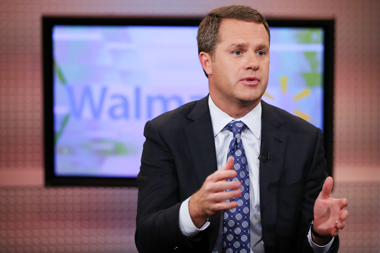 Walmart CEO Doug McMillon: 'We could go away at any minute'