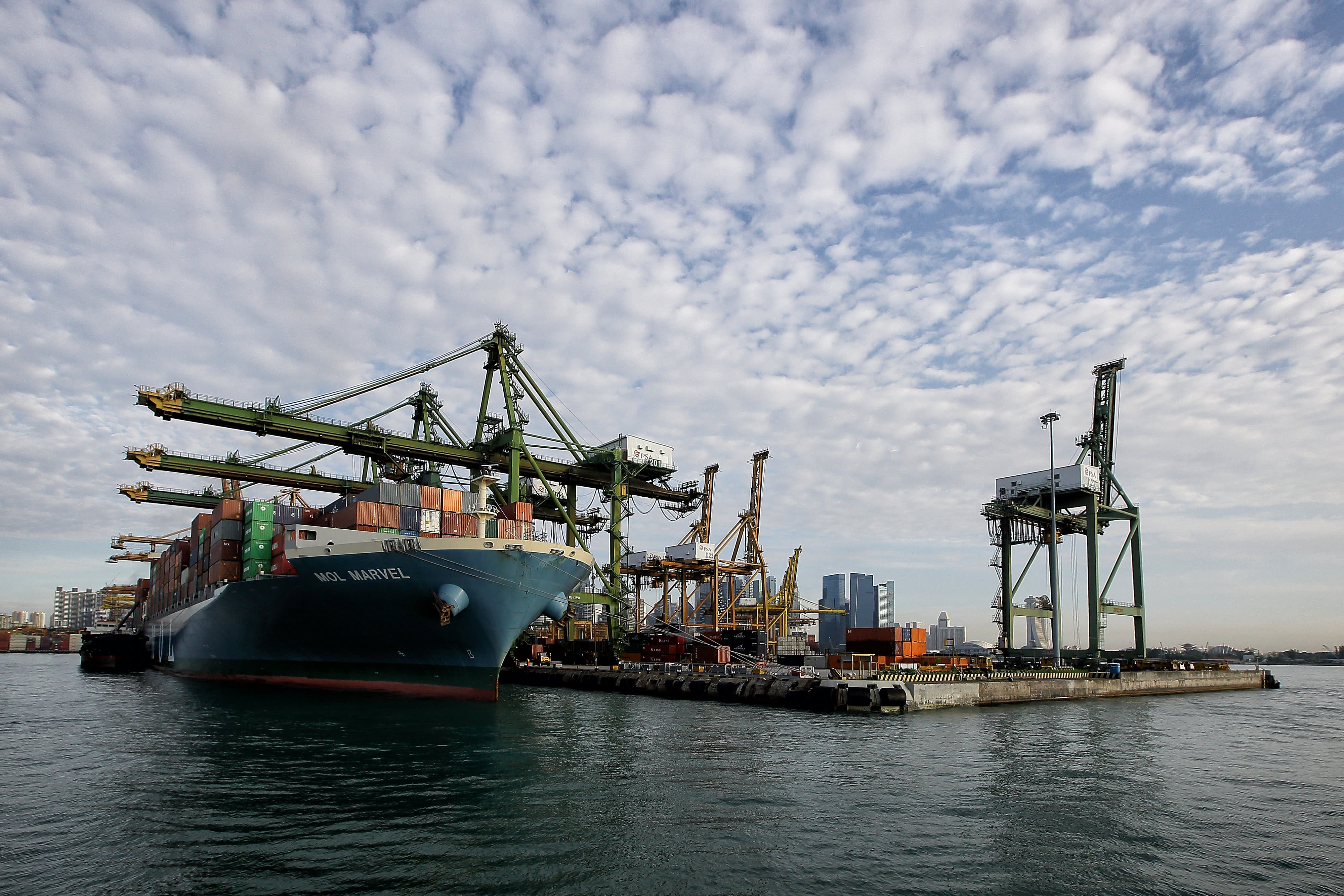 Singapore ranked world's top maritime capital, but another