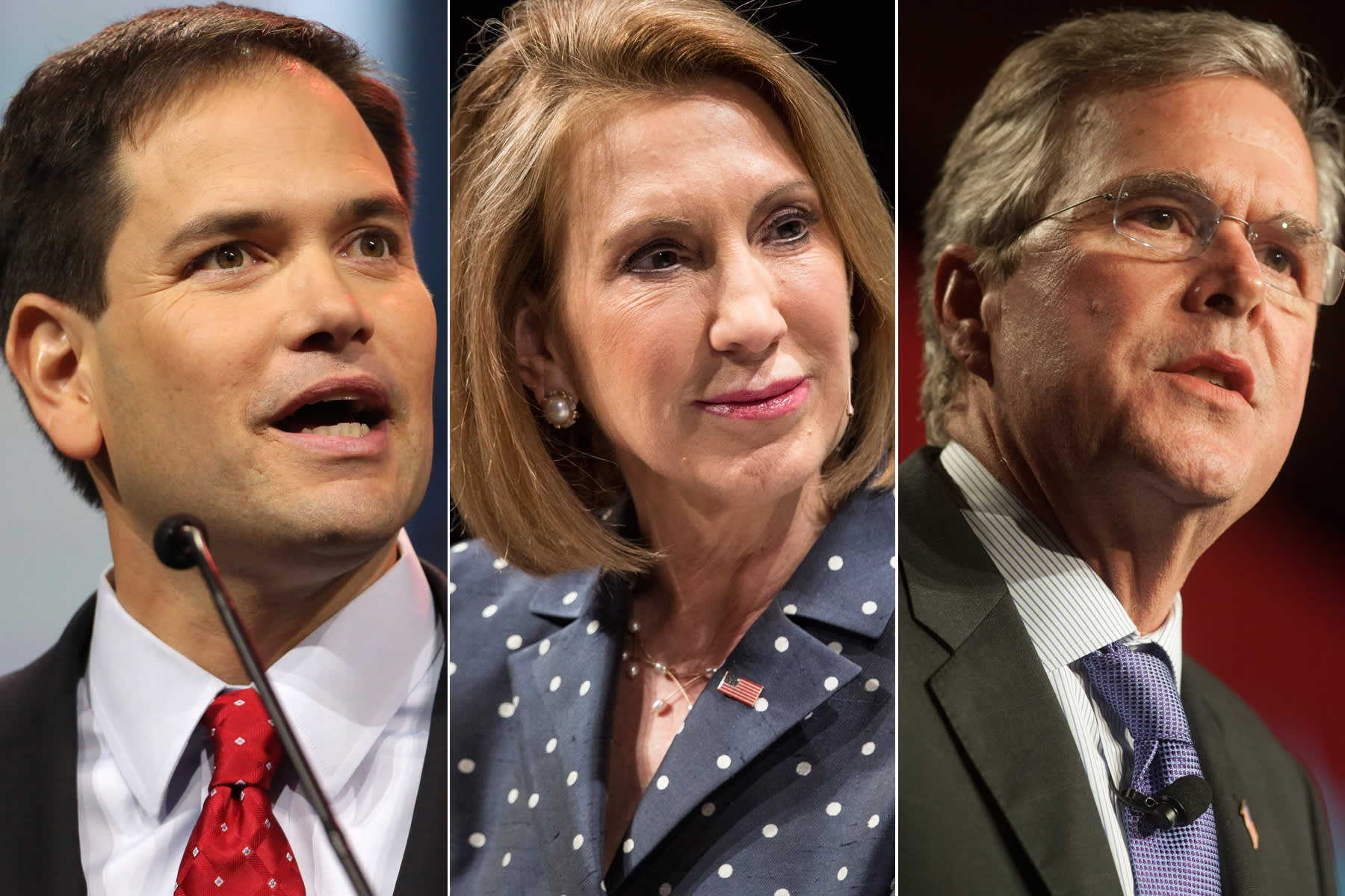 Who in the GOP is attracting tech money?
