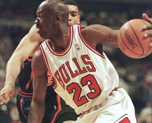 a6593cfb70f4 Michael Jordan game jersey sells for  173