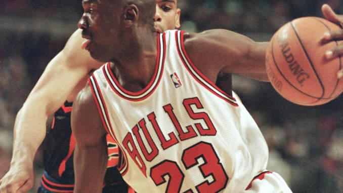 super popular d6bf4 f0948 Michael Jordan game jersey sells for $173,000
