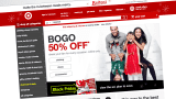 Target home page