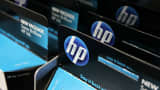 Packages of HP ink cartridges.
