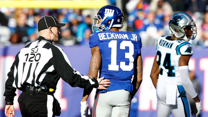 newest c8536 85ca6 Odell Beckham Jr. signs record-breaking $95 million deal ...