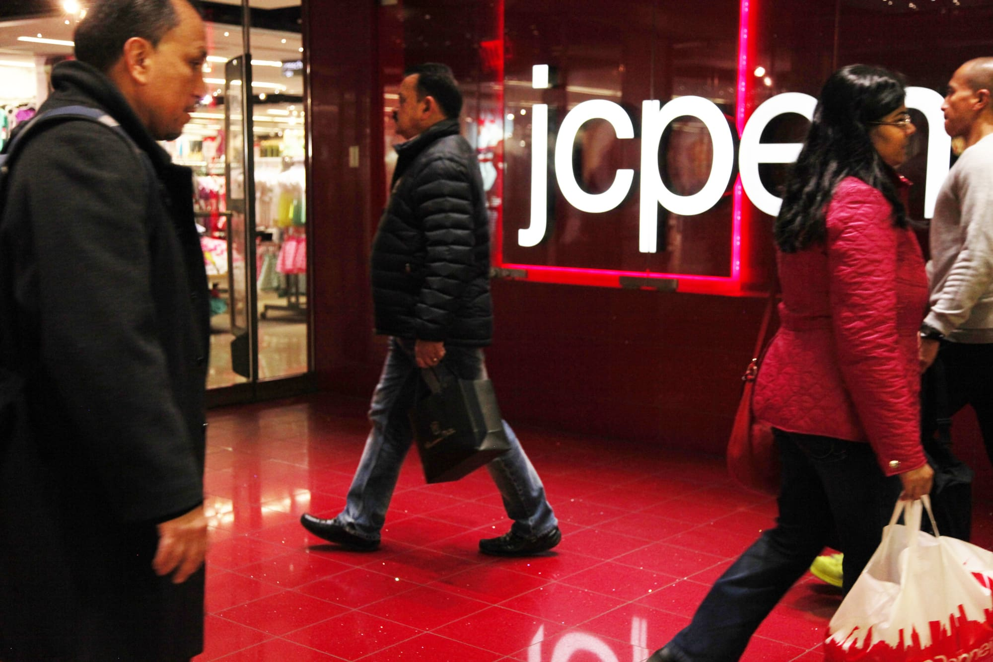 JC Penney says it skipped a $12 million interest payment