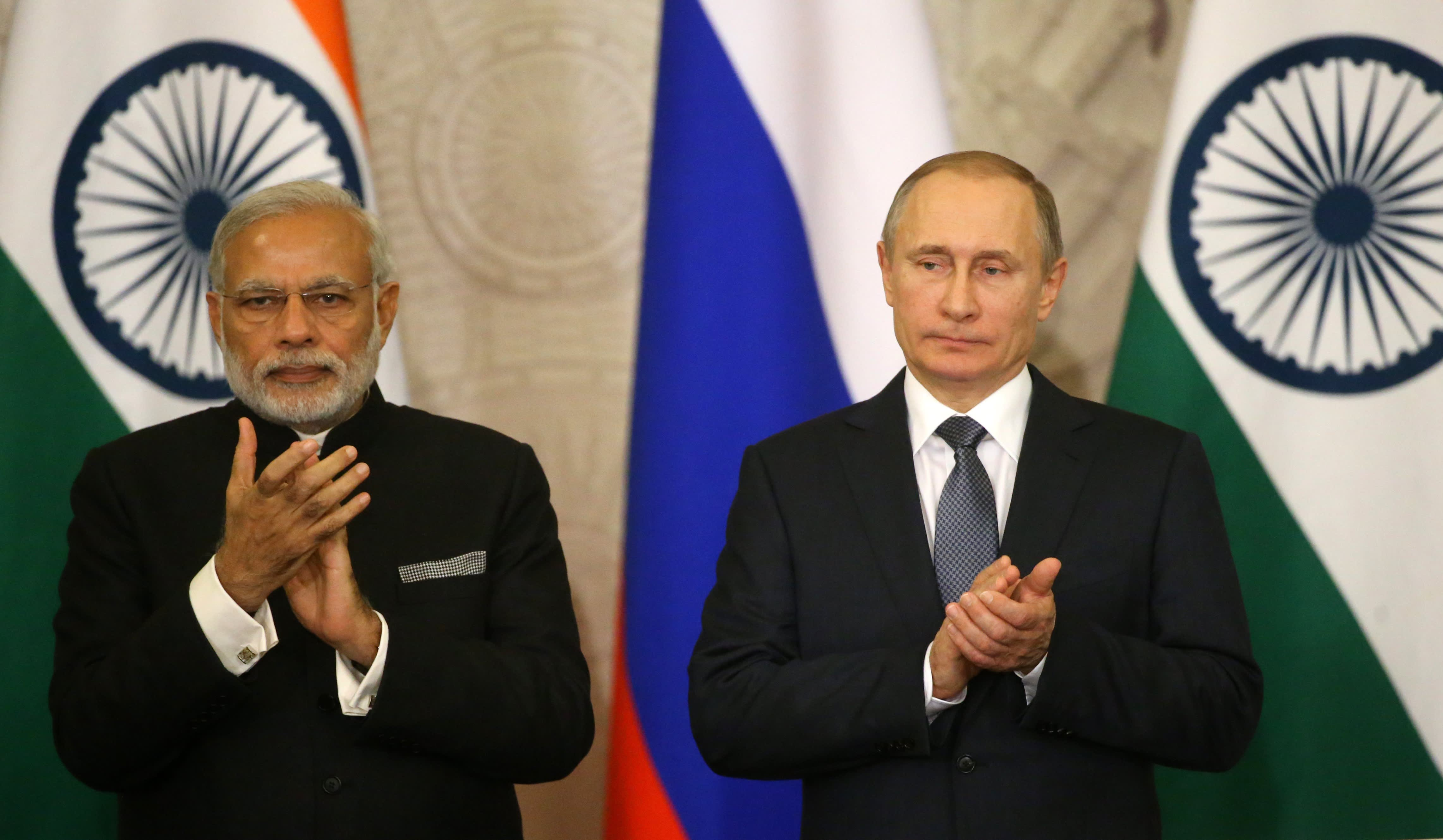 India, facing sanctions for Russian arms deals, says it wants to pivot spending to the US