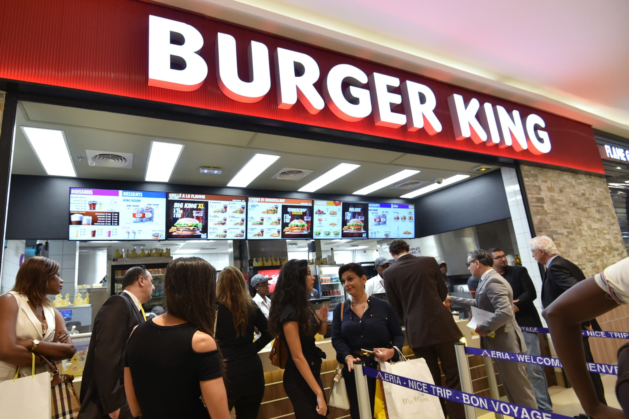 Burger King's parent sets goal of 40,000 stores within next 10 years—that's more than McDonald's has now