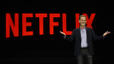 Netflix CEO Reed Hastings delivers a keynote address at CES 2016 on January 6, 2016 in Las Vegas, Nevada.