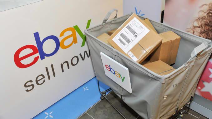 eBay销售站和托运箱