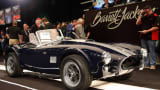 1965 Shelby 289 Cobra Roadster at the Barrett-Jackson car auction in Scottsdale, Ariz.