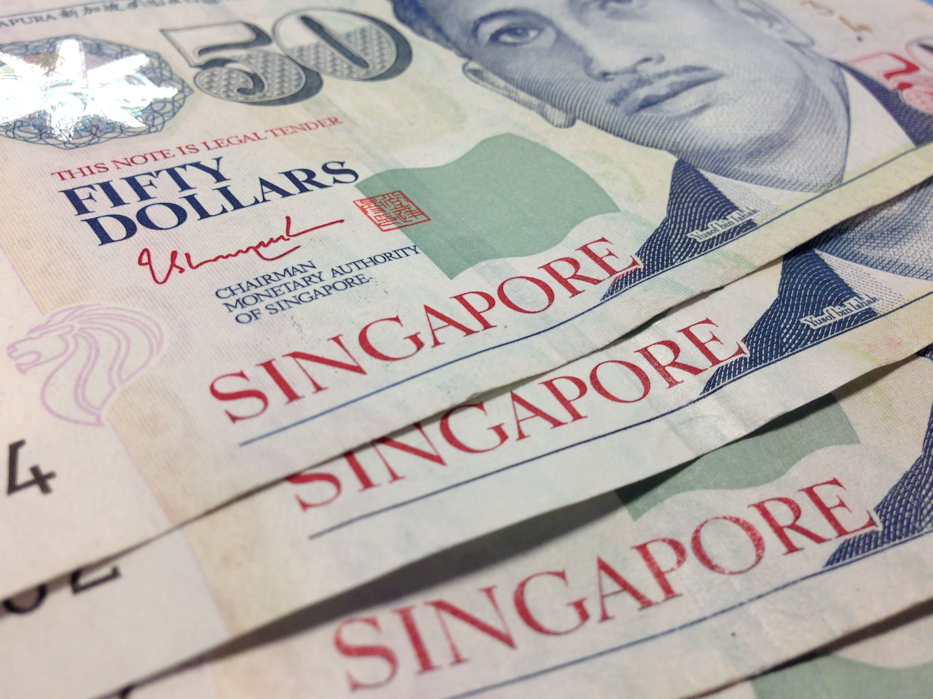 Singapore dollar hits weakest in more than seven years