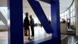 Shareholders arrive at Deutsche Bank's annual shareholder meeting on May 21, 2015 in Frankfurt am Main, Germany.