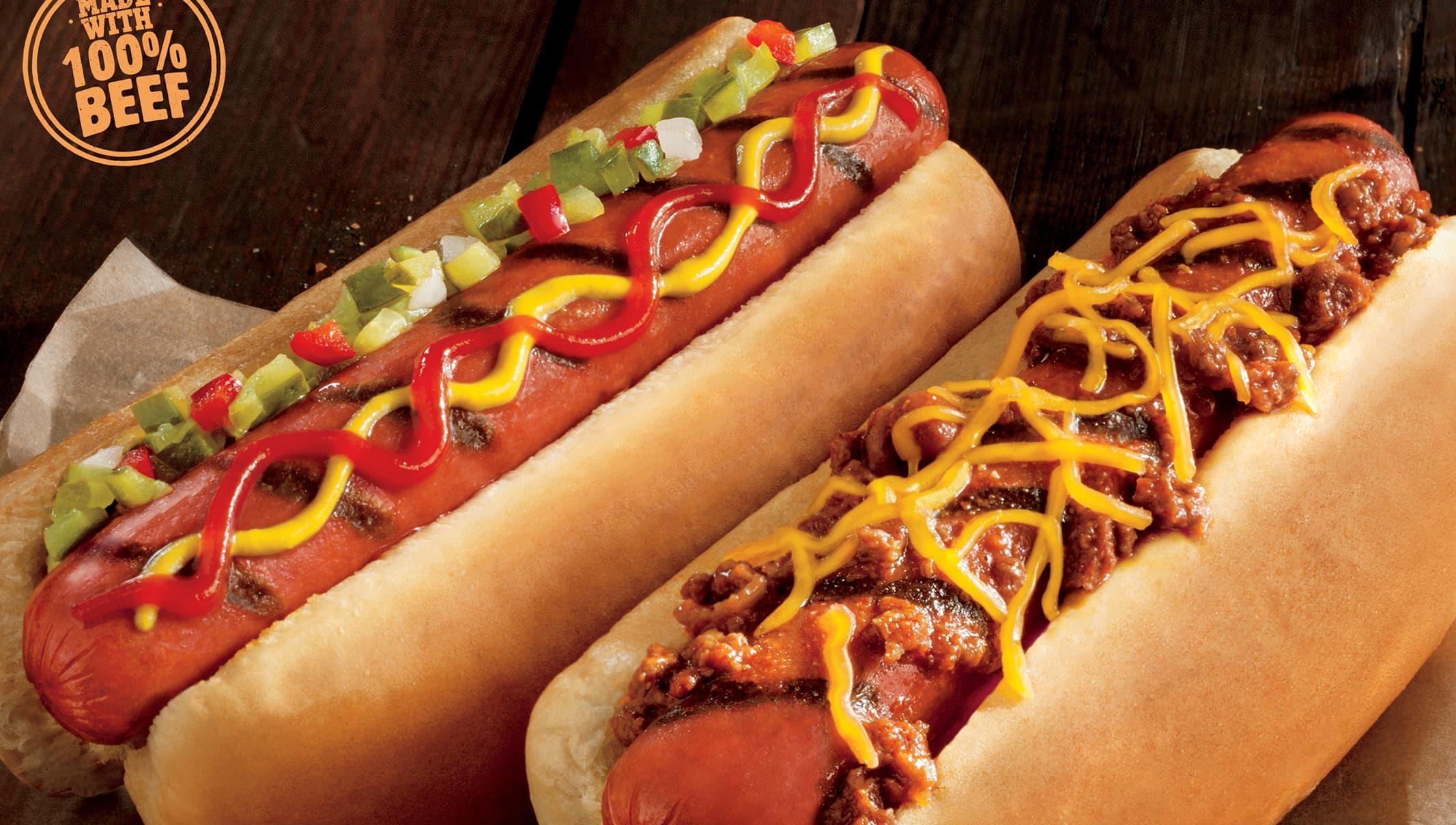 Burger King S Newest Menu Item Grilled Dogs