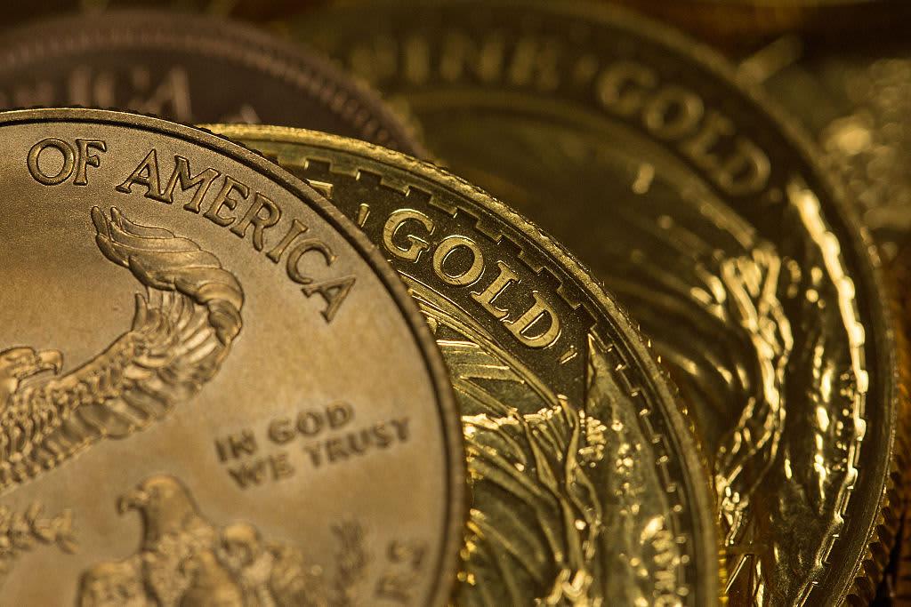 Reusable Gold bullion american eagle