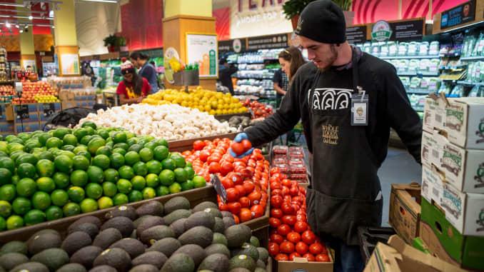 GP: Whole Foods organic produce Oakland Calif 150506