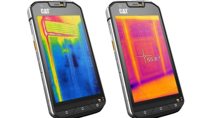 World's first' thermal camera smartphone launched