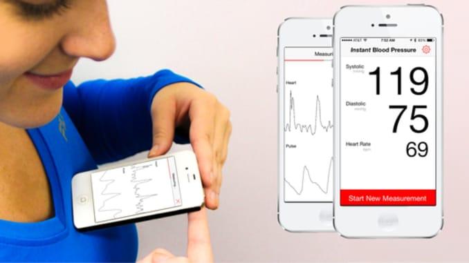 Smartphone app misreads hypertension range