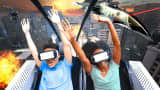 Six Flags Roller Coaster with Samsung Gear VR
