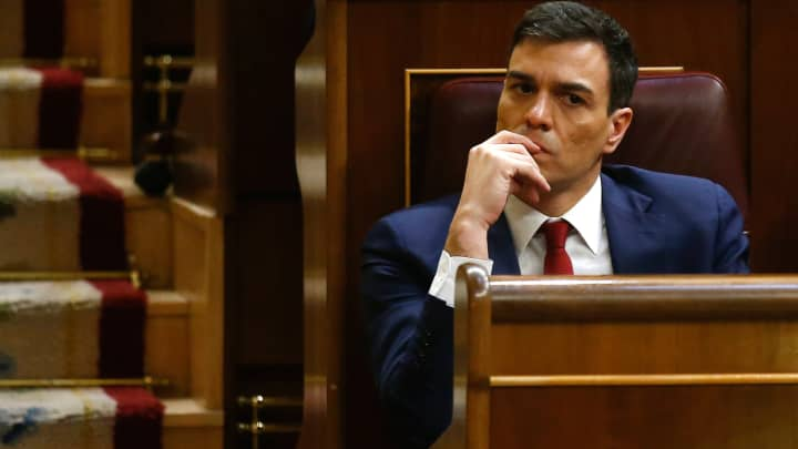 Spanish Prime Minister insists Socialist party must lead any new government in Madrid