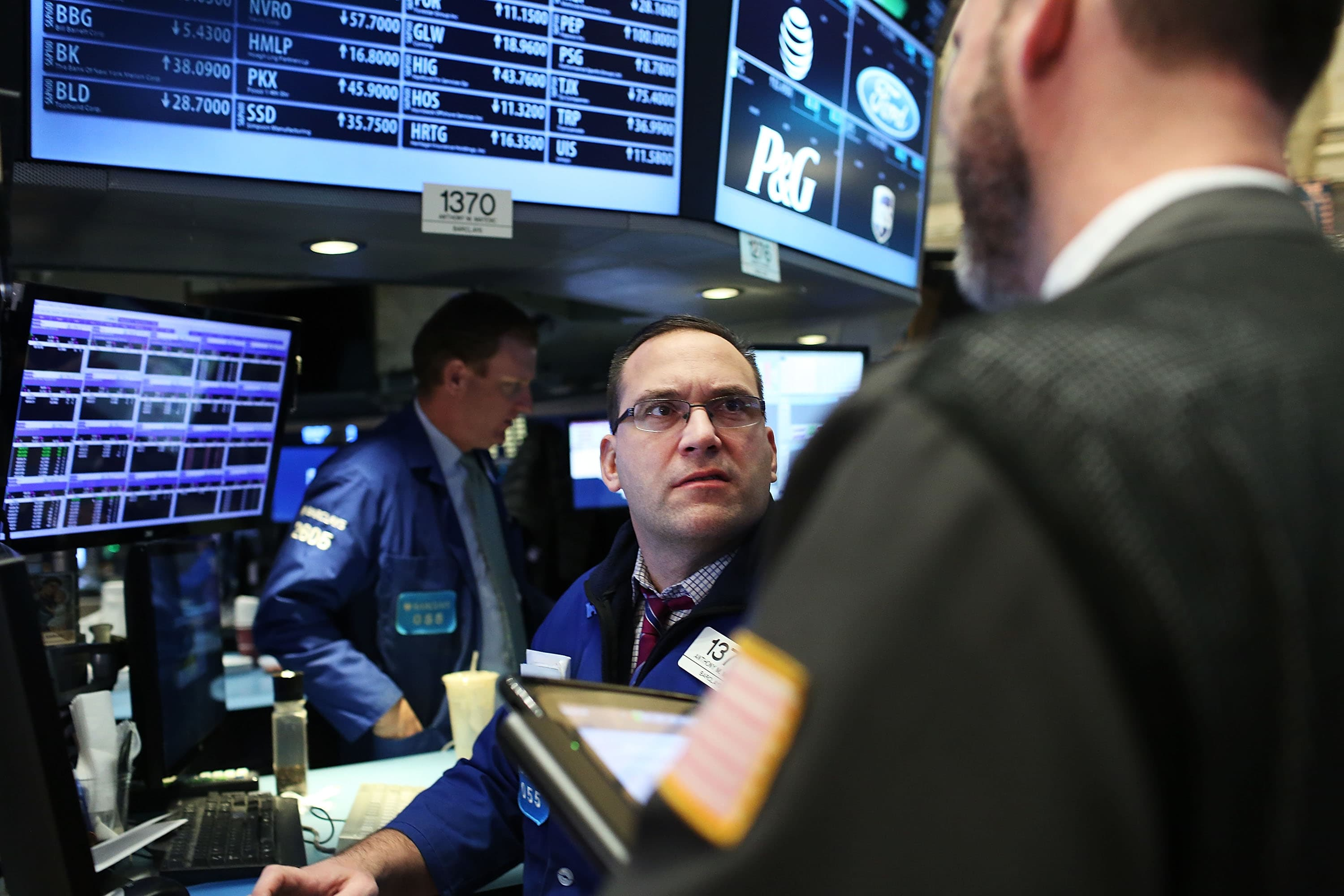 The Dow was perfectly unchanged on Tuesday, a rare occasion on Wall Street