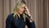 Tennis player Maria Sharapova addresses the media regarding a failed drug test at The LA Hotel Downtown on March 7, 2016 in Los Angeles, California