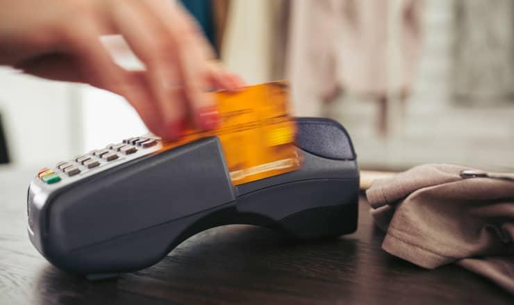 Premium: Consumer Debt credit card purchase card swipe