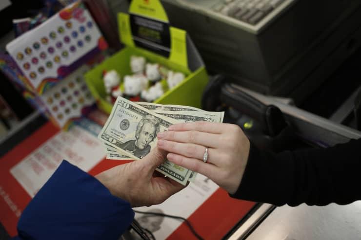 Premium EA: Consumer spending cash purchase store Kmart retail sales 141127