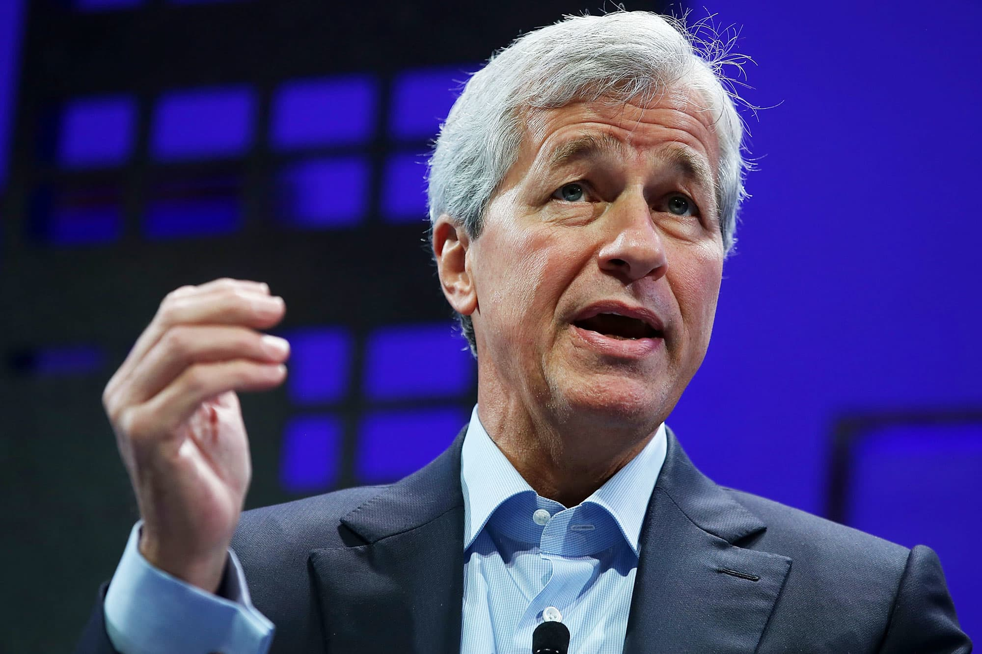 Jamie Dimon says he's OK with higher taxes on the rich, but wealth tax is 'almost impossible'