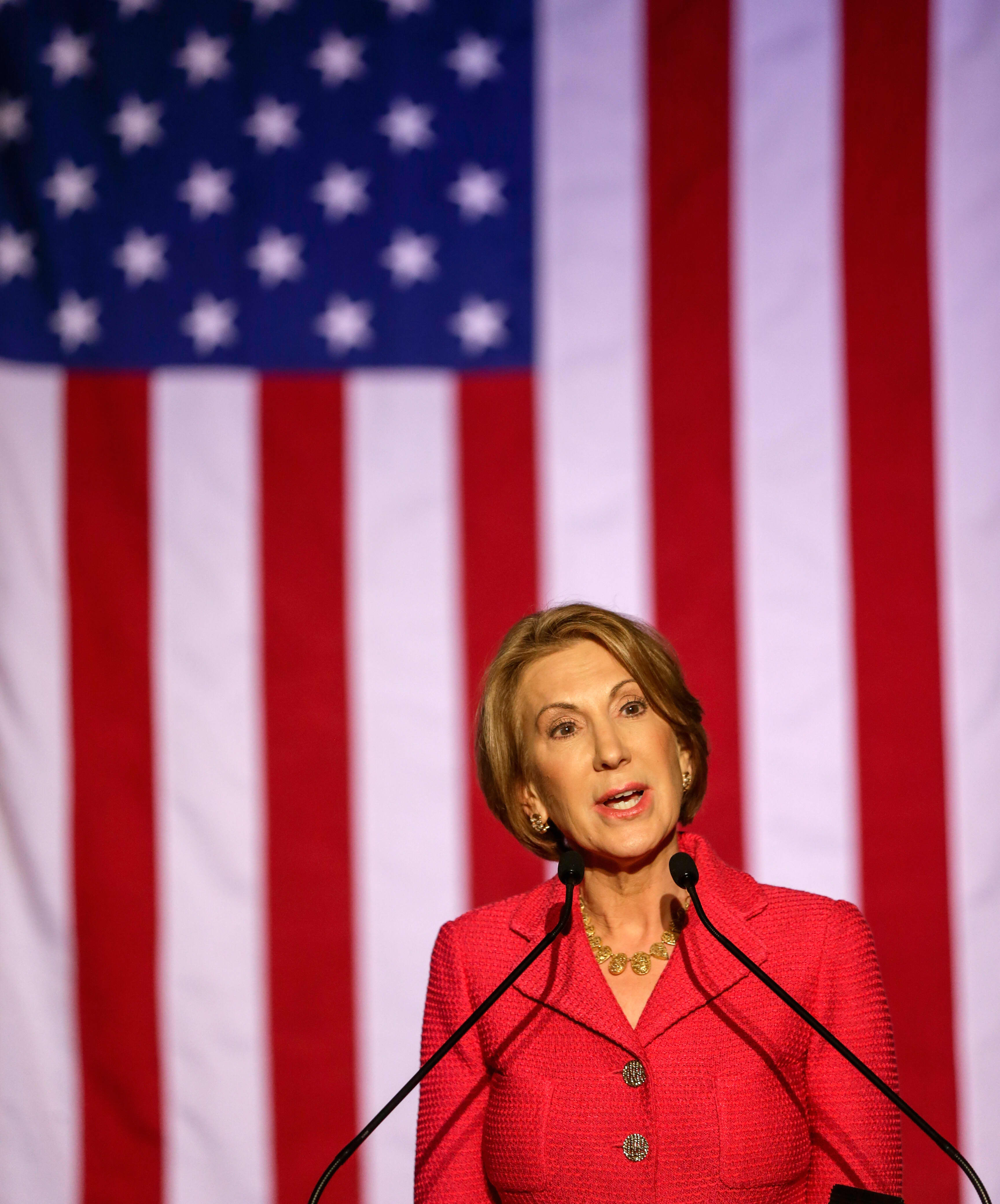 'Character counts' — Carly Fiorina, GOP presidential candidate in 2016, explains why she'll vote for Biden