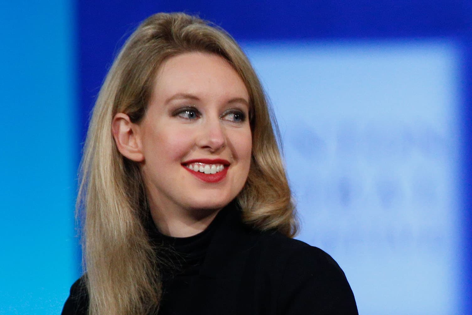 Elizabeth Holmes, CEO of Theranos
