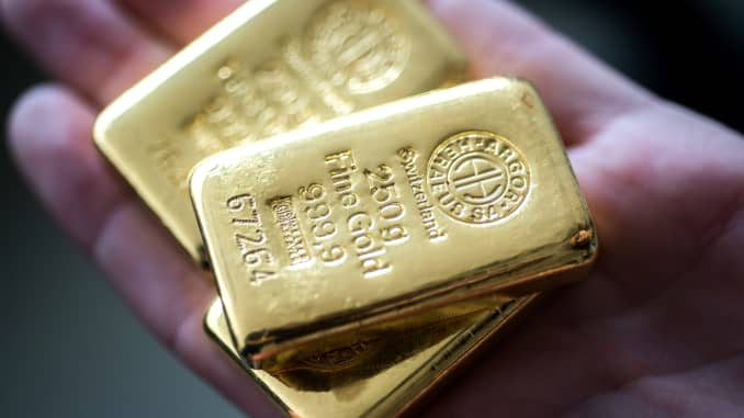 GP: Gold bullion 191001