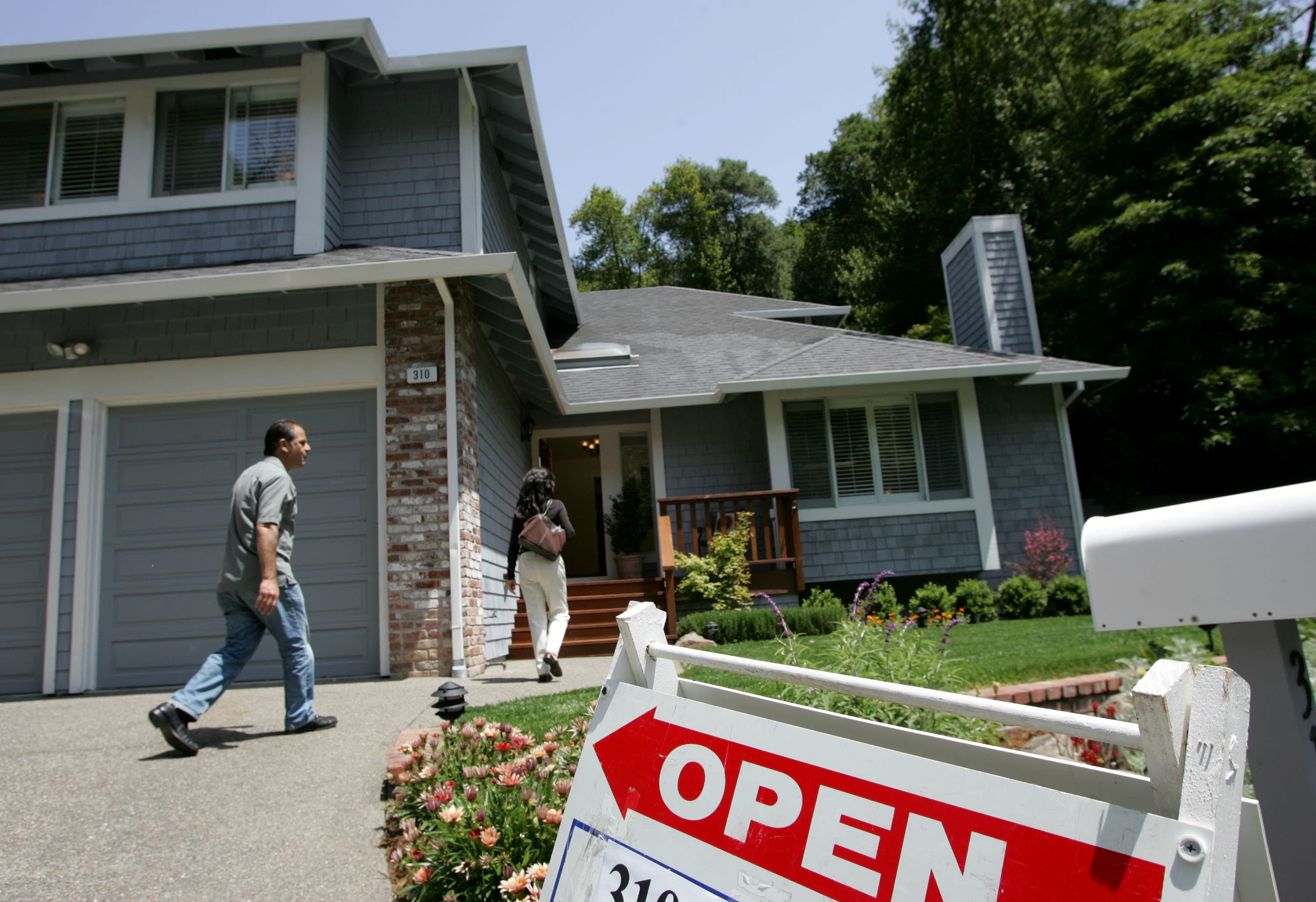 GS: New Home sales house for sale prospective buyers San Rafael Ca.